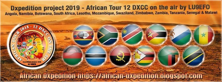 LU9EFO Africa Tour