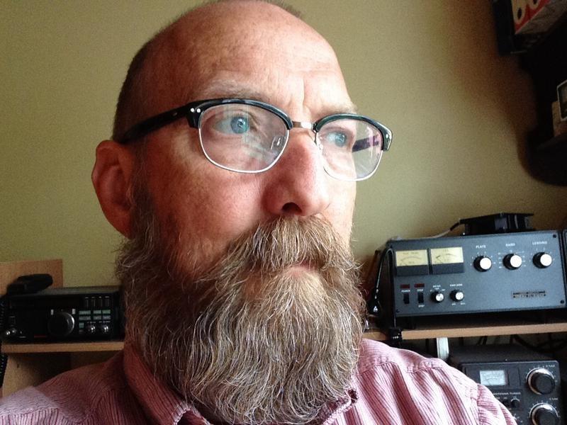 TF5J Jon Berg, Akureyri, Iceland. Radio Room Shack.