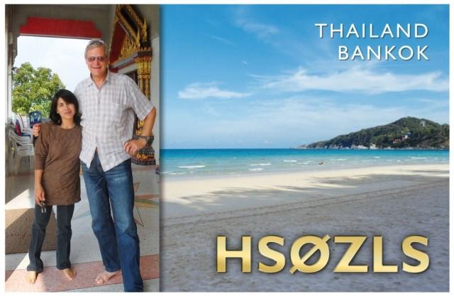 HS0ZLS Rieder Erich, Thailand