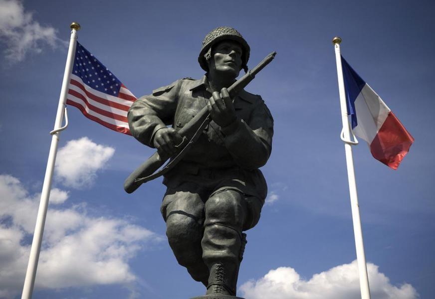TM1USA American landing, Overlord, France