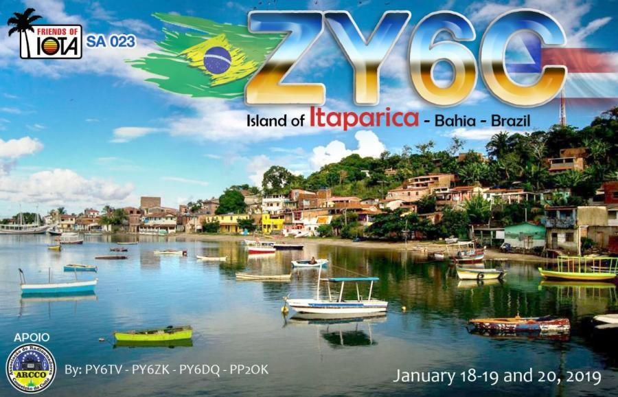 ZY6C Itaparica Island