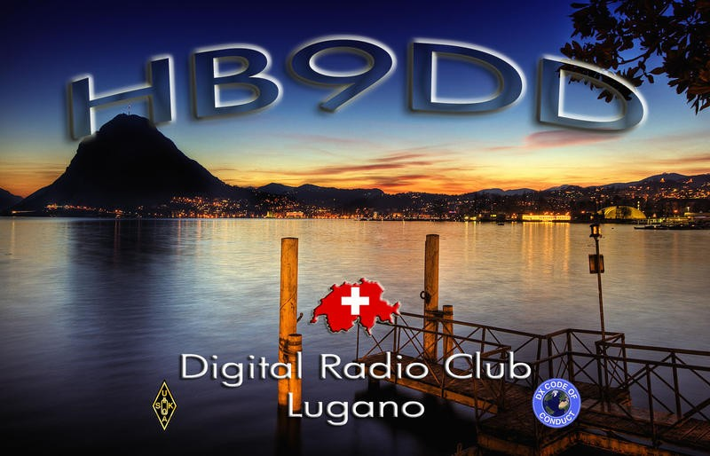 HB90DD Digital Radio Club, Lugano, Comano, Switzerland