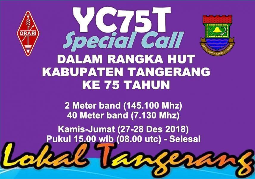 YC75T Tangerang, Indonesia