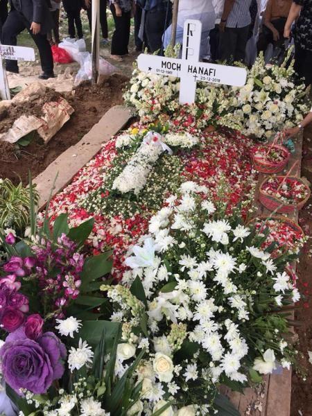 YD0NQJ Moch Hanafi, Jakarta, Indonesia. Funeral Image