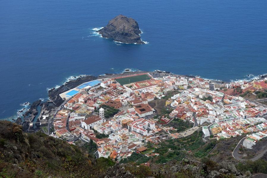 EA8/S55M Mirador de El Lagarito, El Tanque, Tenerife Island, Canary Islands.