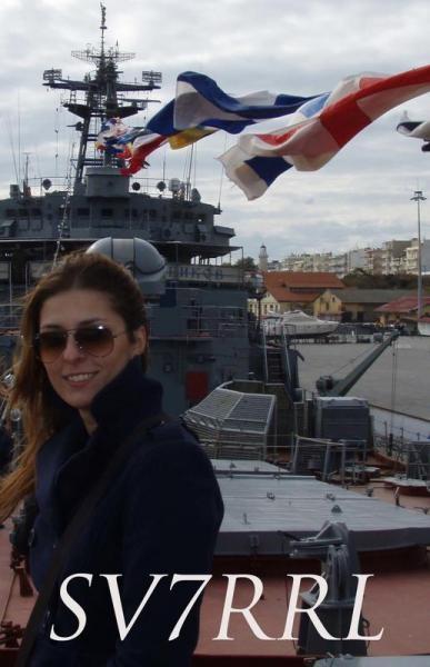 SV7RRL. Maria Stampouli Alexandroupolis, Greece.