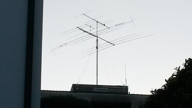 HB90EFJ Claudio Galbusera, Muralto, Switzerland. Antennas.