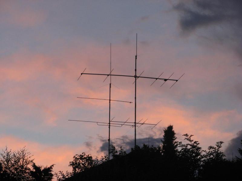 HB90LBC Christoph Isler, Bassersdorf, Switzerland. Antennas