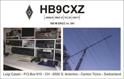 HB90CXZ Luigi Casari, Sant Antonino, Switzerland.