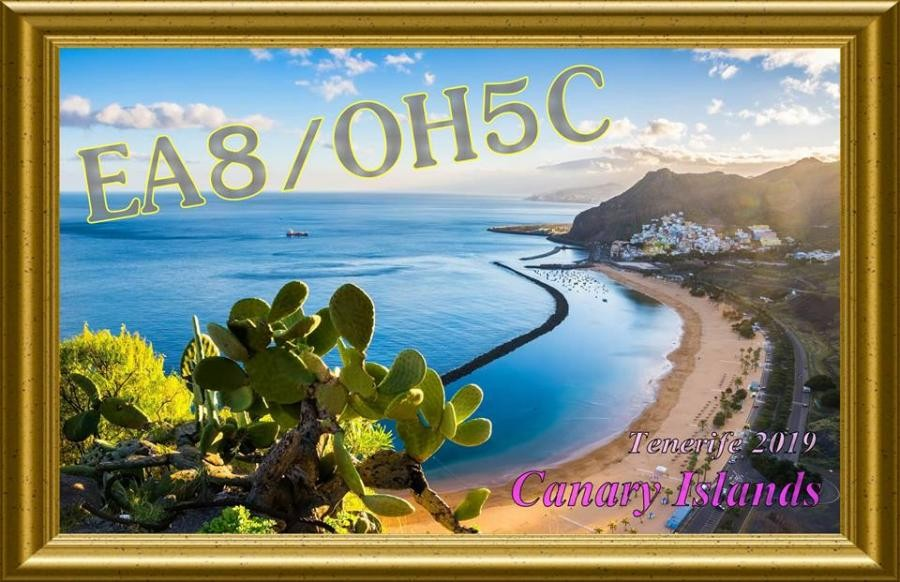 EA8/OH5C Tenerife Island, Canary Islands