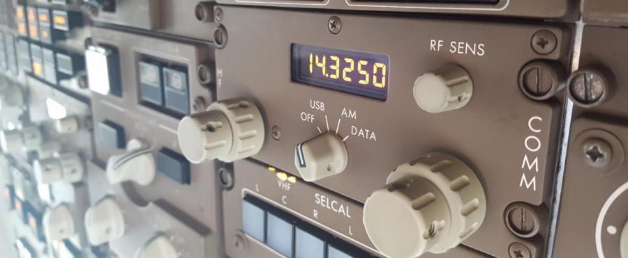 AA4CS/AM Boeing 757 HF Transceiver