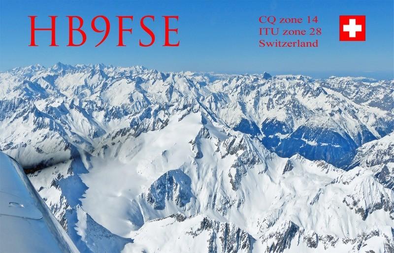 HB90FSE Edy Schildknecht, Baltenswil, Switzerland QSL Card