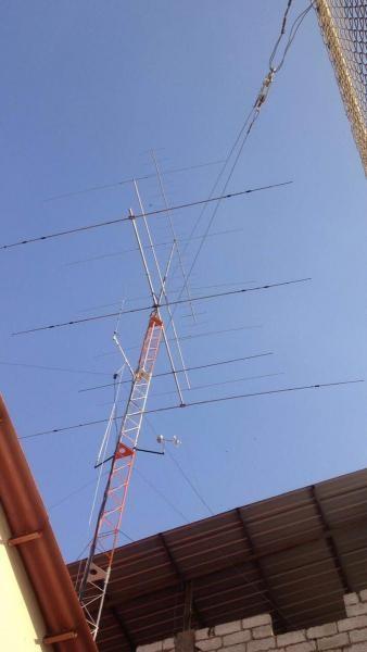 HC2TRA Guayaquil, Ecuador. Antennas