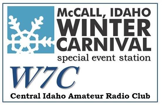 W7C Central Idaho Amateur Radio Club, Donnelly, Idaho, USA. McCall Winter Festival