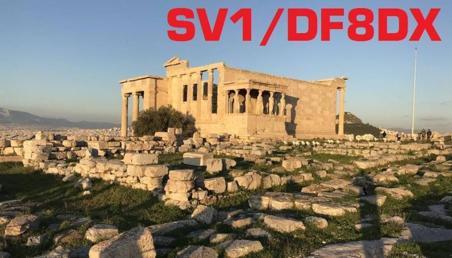 SV1/DF8DX Bodo Fritsche, Athens, Greece