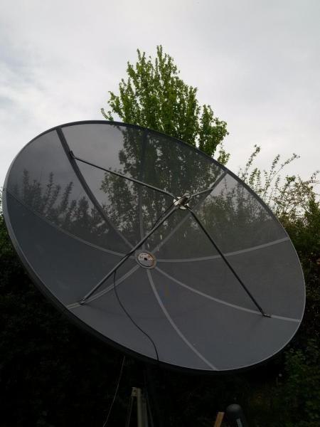 HB90GWJ Olivier Tymkiw, Givrins, Switzerland. Antenna