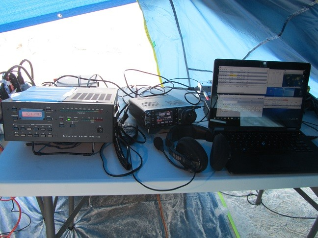 TX0M Morane Atoll IC-7000 and KPA-500