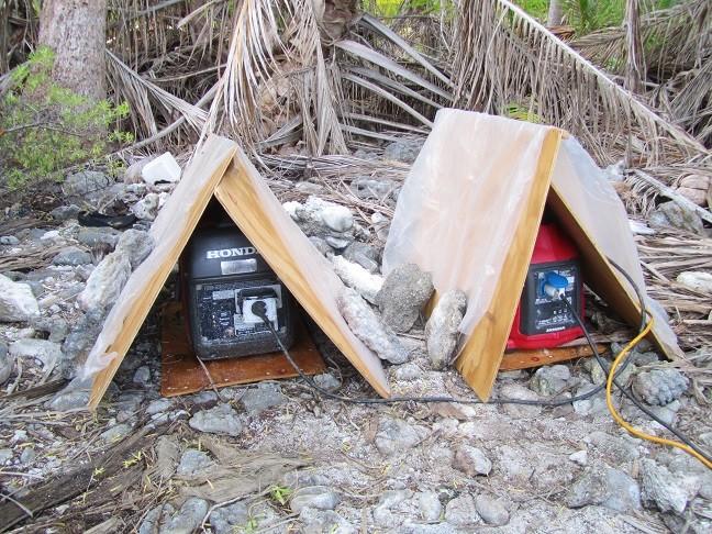 TX0A Maria Est Atoll Honda generators