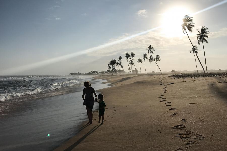 9G5RV Elmina beach, Ghana.