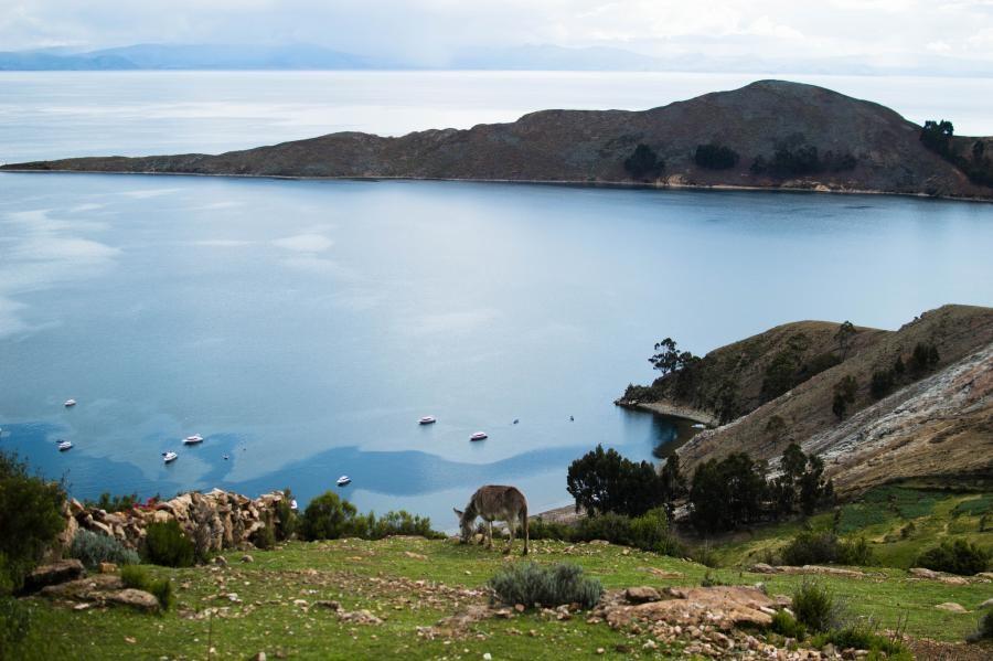 W7GJ Lake Titicaca, Bolivia.