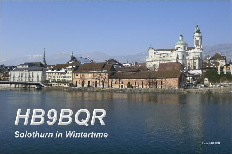 HB90BQR Roland Burkhard, Solothurn, Switzerland