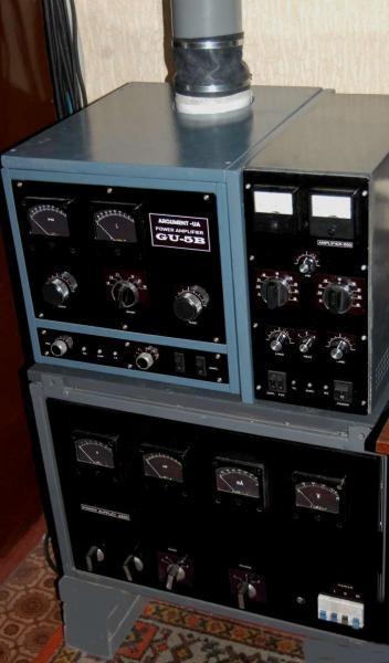 UR8LV 4 kwt HF Amplifier GU5B