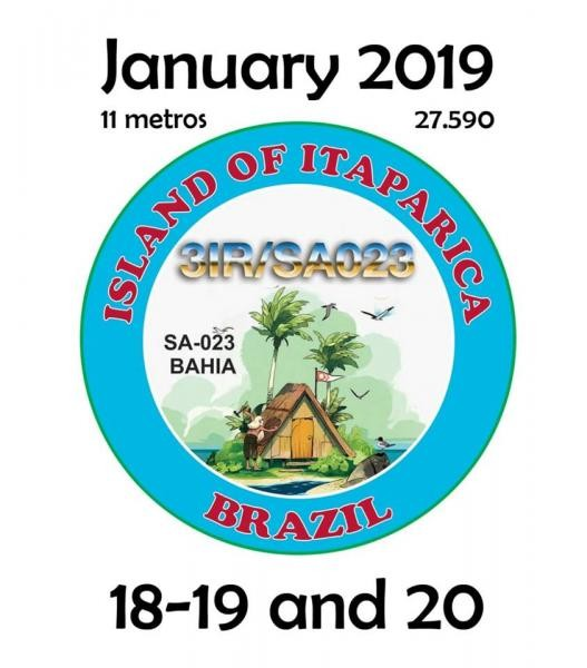 3IR/SA 023 Itaparica Island, Brazil