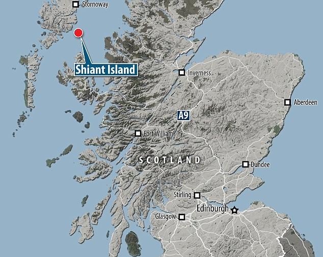 MS0INT Shiant Island, Shiant Isles Map
