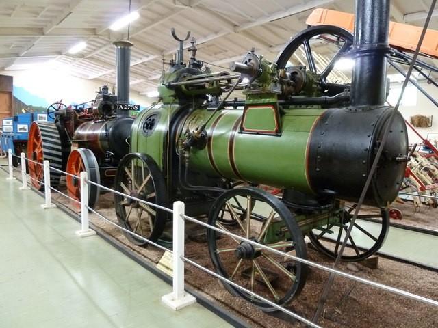 GB1BSF Sidmouth, England. Bicton Steam Fair