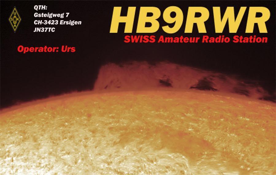 HB90RWR Urs Fluekiger, Ersigen, Switzerland