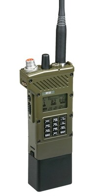 AT RF 23 Handheld Multiband VHF Military transceiver