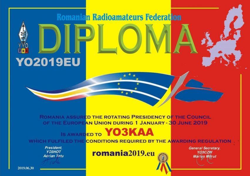 YO2019EU Romania