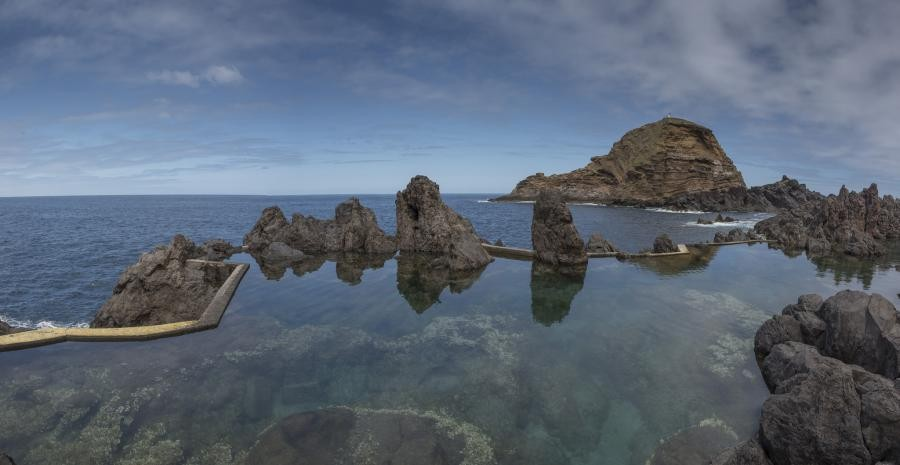 CT9/OM8AA Natural pools of Porto Moniz. Madeira Island.