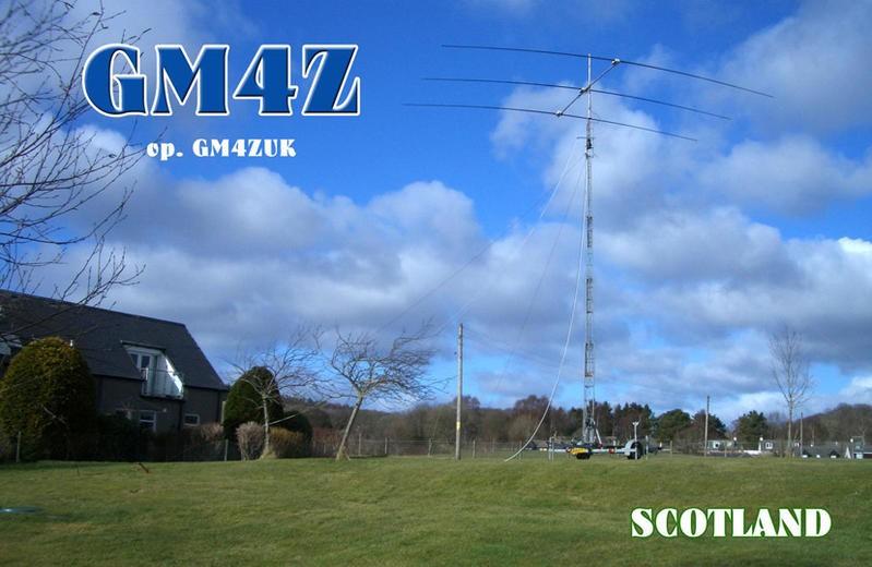 GM4Z Allan Duncan, Aberdeenshire, Scotland