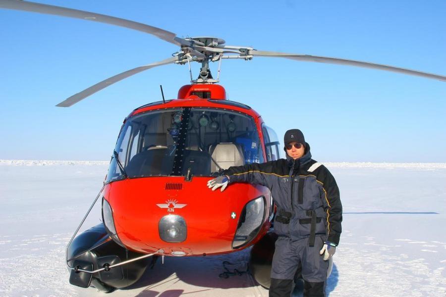 OX/SE3A Nils Norin, Greenland