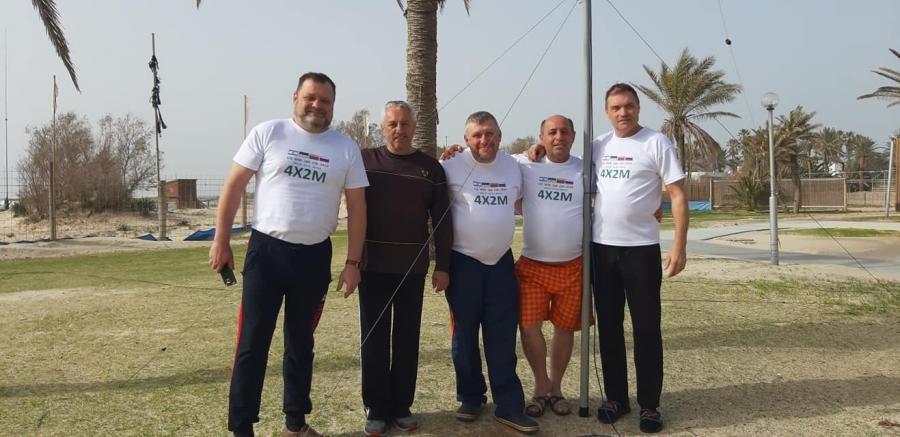 4X2M Team Dor Beach, Israel