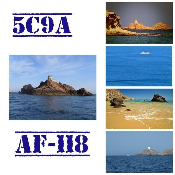 5C9A Los Farallones Island, Morocco IOTA