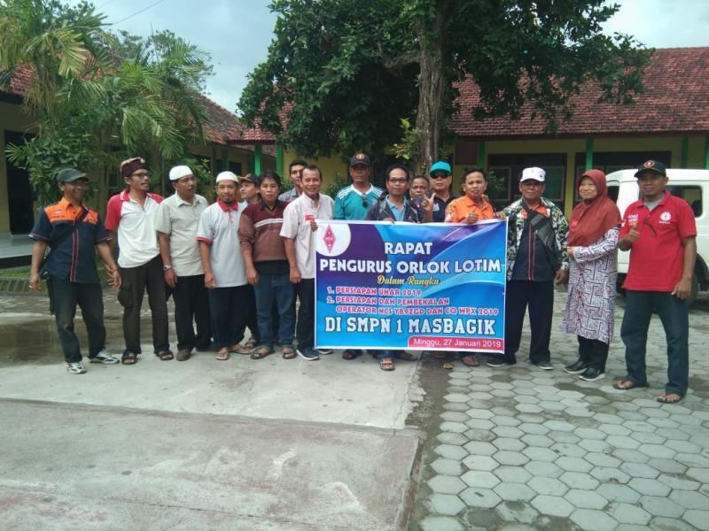 YB9ZGD Orari Lombok Timur, Lombok Island, Indonesia. Team.