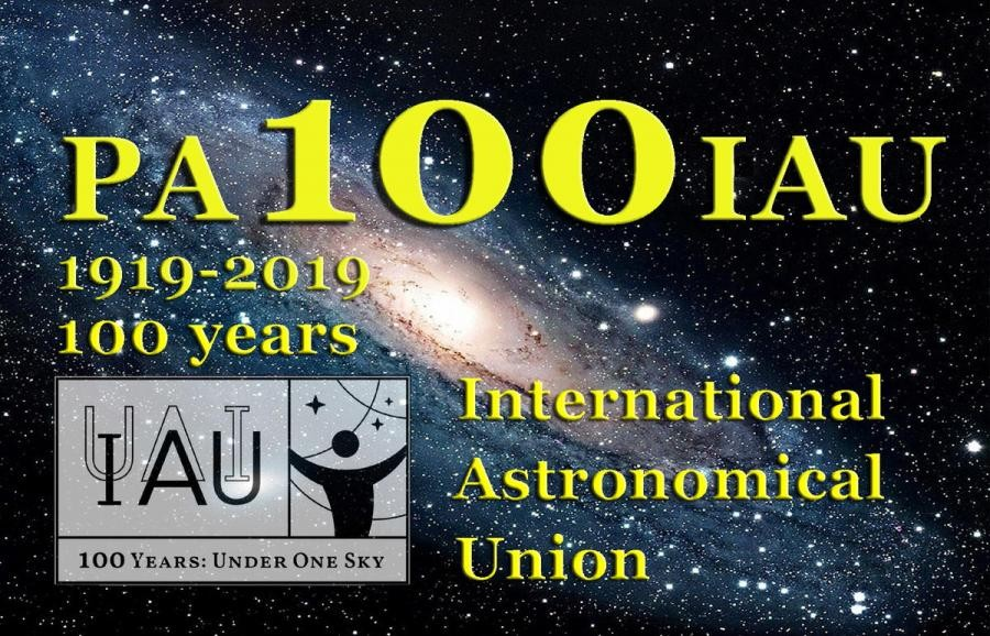 PA100IAU International Astronomical Union, Sterrenwacht Tivoli, Oudenbosch, Netherlands.
