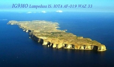 IG9MO Lampedusa Island DX News