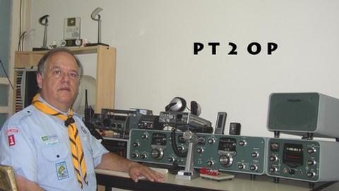 PS50Y Orlando Perez Filho, Brasilia, Brazil. Radio Room Shack.