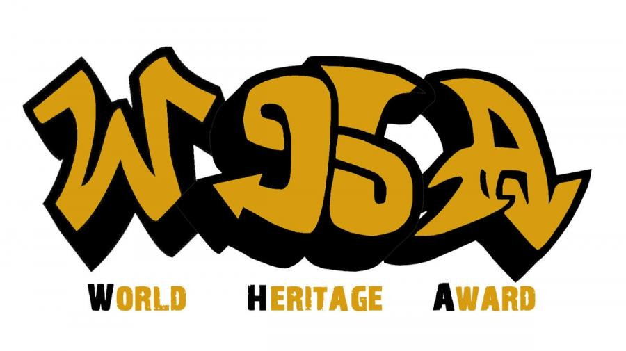 EG1WHA Vigo, Spain. World Heritage Award Logo