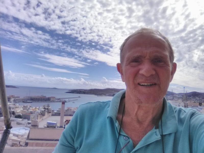SY8CDV George Freris, Kini, Hermoupolis, Syros Island, Greece