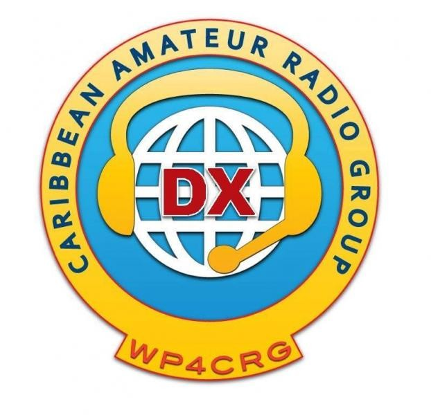 WP4CRG Caribean Amateur Radio Group Logo