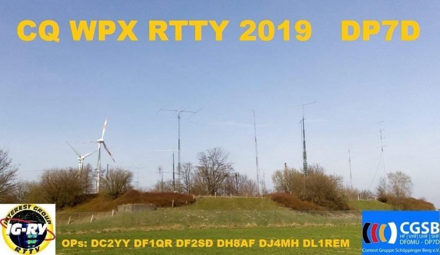 DP7D HF Contestgruppe, Mulheim an der Ruhr, Germany