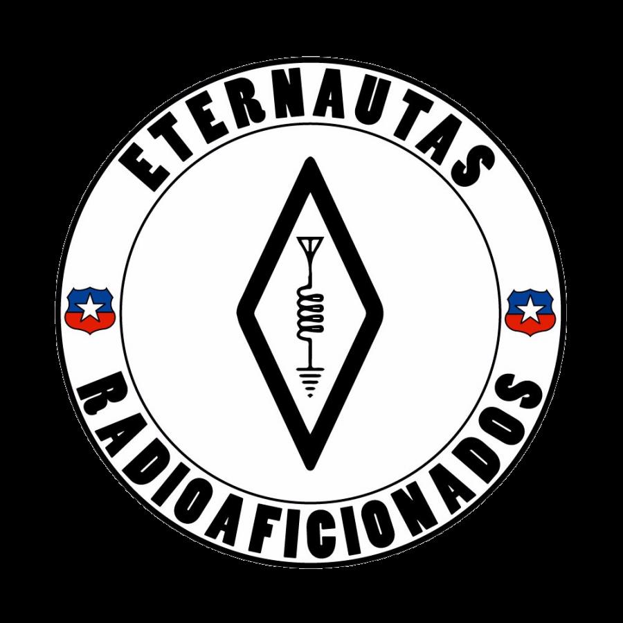 XR2ET Eternautas Radioaficionados, Valparaiso, Chile. Logo
