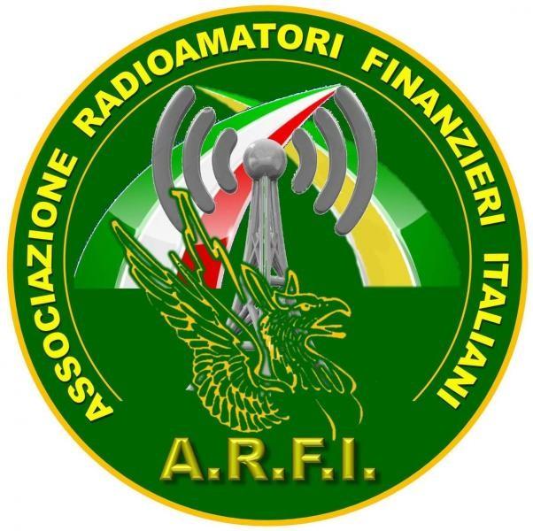 IQ0JV Associazione Finanzieri Radioamatori Italiano, Terni, Italy. Logo