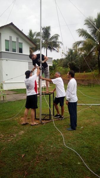 V84SAA Brunei Spiderbeam assembly