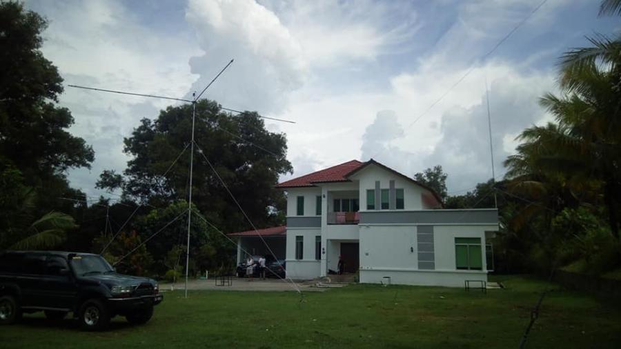 V84SAA Brunei SSB QTH Antennas Image 4