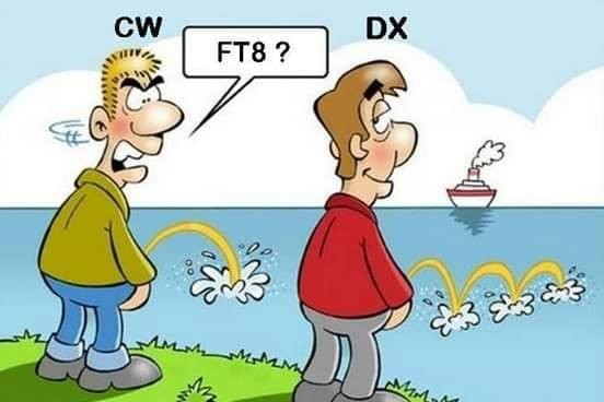 CW FT8